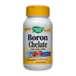 Nature's Way Boron Chelate | 100 caps