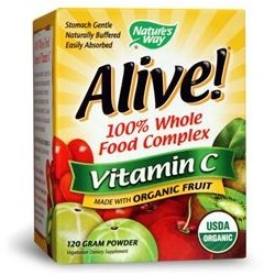 Nature's Way Alive Vitamin C 500mg | 0.120 kg
