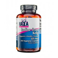 Haya Labs Iodine from Kelp 225mcg | 250 vcaps