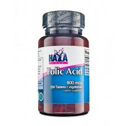 Haya Labs Folic Acid 800mcg | 250 vtabs