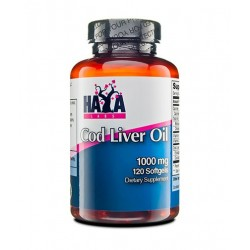 Haya Labs Cod Liver Oil 1000mg | 120 sgels