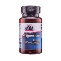 Haya Labs Chelated Magnesium 200mg | 60 vtabs
