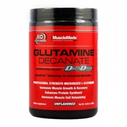 Musclemeds Glutamine Decanate | 0.300kg