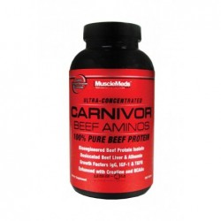 Musclemeds Carnivor Beef Aminos | 300 tabs