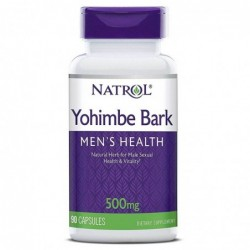 Natrol Yohimbe Bark 500mg