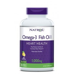 Natrol Omega-3 Fish Oil 1000mg | 90 sgels