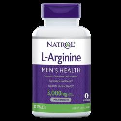 Natrol L-Arginine 3000mg | 90 tabs