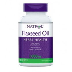 Natrol Flaxseed Oil 1000mg | 120 sgels
