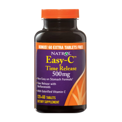 Natrol Easy-C with Bioflavonoids 500mg Time Release | 120 tabs + 60 ПОДАРЪК