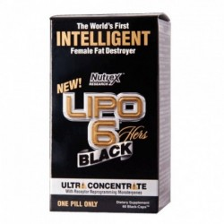 NUTREX Lipo 6 Black Hers Ultraconcentrate | 60 caps