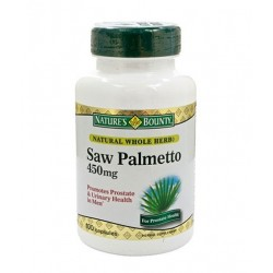 Nature\'s Bounty Natural Saw Palmetto | 100 caps