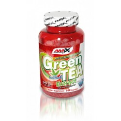 Amix Green Tea Extract with Vitamin C | 100 caps