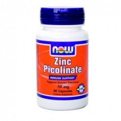 NOW Zinc Picolinate 50mg | 120 caps