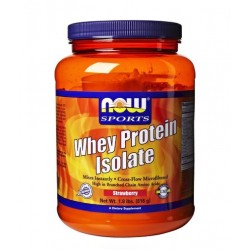 NOW Whey Protein Isolate Flavoured