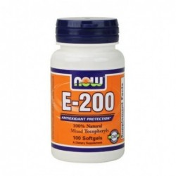 NOW Vitamin E-200 IU | 100 sgels