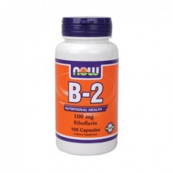 NOW Vitamin B-2 Riboflavin 100mg | 100 caps