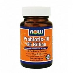 NOW Probiotic-10 | 50 vcaps