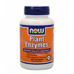 NOW Plant Enzymes | 120 vcaps