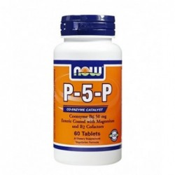 NOW P-5-P 50mg | 60 vtabs