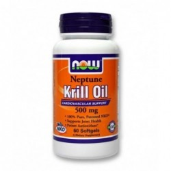 NOW Neptune Krill Oil 500mg | 60 sgels