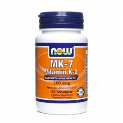 NOW MK-7 Vitamin K-2 100mcg | 60 vcaps