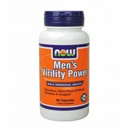 NOW Men's Virility Power | 60 caps
