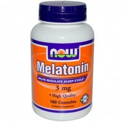 NOW Melatonin 3mg | 180 caps