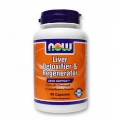 NOW Liver Detoxifier & Regenerator (Liver Refresh) | 90 caps