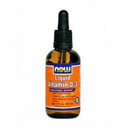 NOW Liquid Vitamin D-3 | 60ml