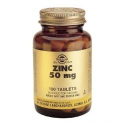 Solgar Zinc 50mg | 100 tabs