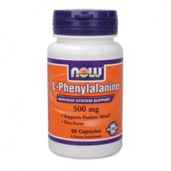 NOW L-Phenylalanine 500mg | 60 caps
