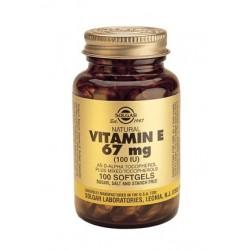 Solgar Vitamin E 67mg | 100 caps