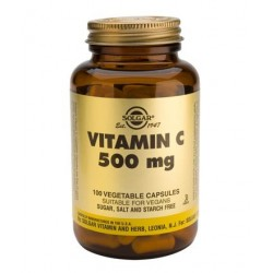 Solgar Vitamin C 500mg | 100 caps