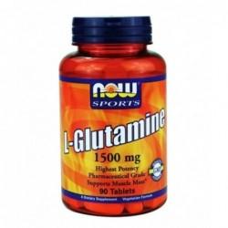 NOW L-Glutamine 1500mg | 90 tabs