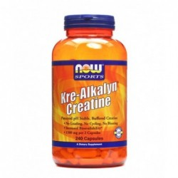 NOW Kre-Alkalyn Creatine | 240 caps