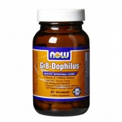 NOW Gr8-Dophilus | 60 vcaps