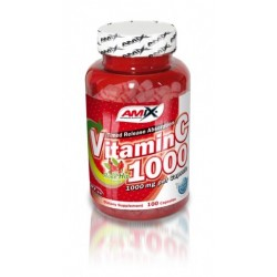 Amix Vitamin C Rose Hips 1000mg | 100 caps