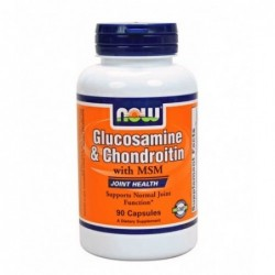 NOW Glucosamine & Chondroitin with MSM | 180 caps