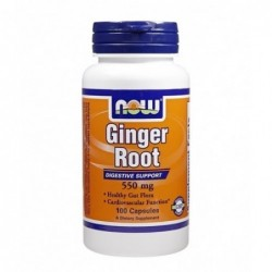 NOW Ginger Root 550mg | 100 caps