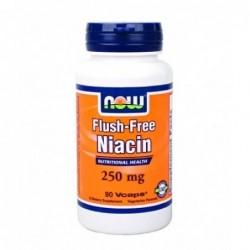 NOW Flush-Free Niacin 250mg | 90 vcaps