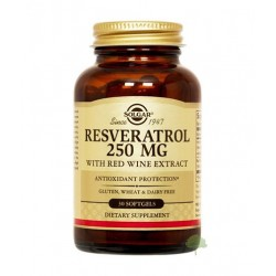 Solgar Resveratrol 250mg | 30 sgels