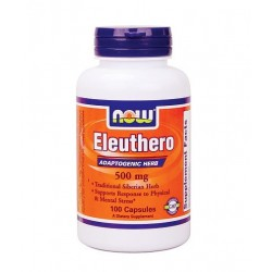 NOW Eleuthero 500mg | 100 caps