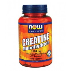 NOW Creatine Monohydrate 1500mg | 100 tabs