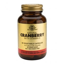 Solgar Natural Cranberry+Vitamin C | 60 caps