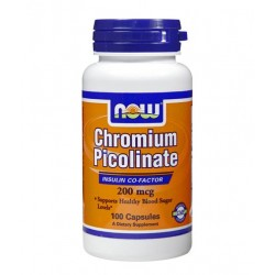 NOW Chromium Picolinate 200mcg | 100 caps