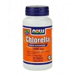 NOW Chlorella 1000mg | 60 tabs