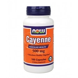 NOW Cayenne 500mg | 100 caps