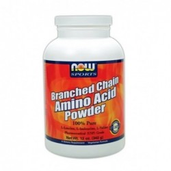 NOW Branched Chain Amino Acid - BCAA Powder | 0.340kg