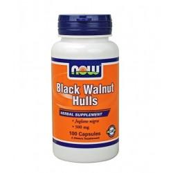 NOW Black Walnut Hulls 500mg   100 caps