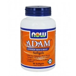 NOW ADAM Superior Mens Multiple Vitamin | 90 sgels
